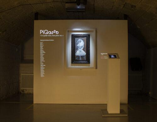 Le Picasso Qommunautaire en visite à La Ferme des Tilleuls